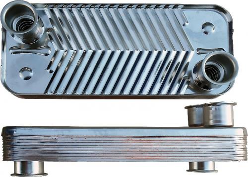 Теплообменник ГВС Navien Deluxe 24, Асе 13-20 30004995A