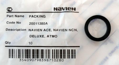 20011380A кольцо уплотнительное Navien