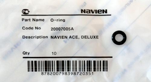 20007005A кольцо уплотнительное Navien